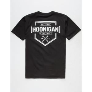 フーニガン メンズ Tシャツ トップス Bracket T-Shirt BLACK|fermart3-store