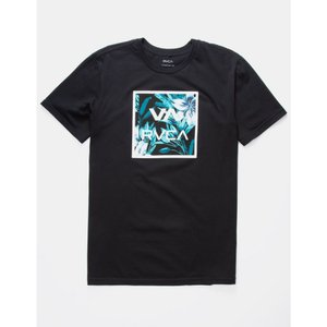 ルーカ RVCA メンズ Tシャツ トップス VA All The Way Botanical T-Shirt BLACK|fermart3-store