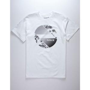 ハーレー HURLEY メンズ Tシャツ トップス Sidewall T-Shirt WHITE|fermart3-store