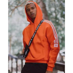 アディダス ADIDAS メンズ パーカー トップス Modular Orange Hoodie ORANGE fermart3-store