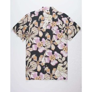 TCSS メンズ 半袖シャツ トップス Pursuit Shirt BLACK|fermart3-store