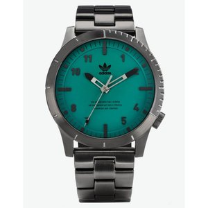 アディダス メンズ 腕時計 CYPHER_M1 Gunmetal & Subgreen Watch GUNMETAL|fermart3-store