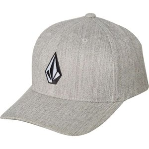 ボルコム Volcom メンズ キャップ 帽子 Full Stone Heather Xfit Cap Grey vintage|fermart3-store