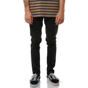 ボルコム メンズ ジーンズ・デニム ボトムス・パンツ 2X4 Tapered Jean Ink black|fermart3-store