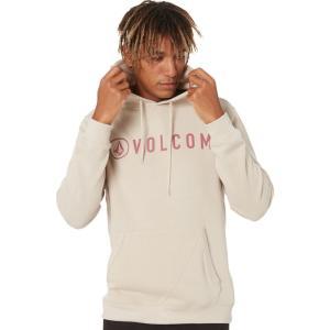 ボルコム Volcom メンズ フリース トップス Header Pullover Fleece Sandstorm|fermart3-store