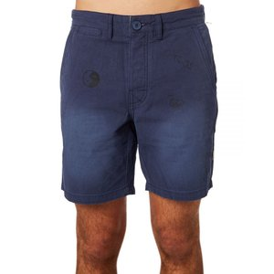 TCSS The critical slide society メンズ ショートパンツ ボトムス・パンツ Drop Out Short Navy|fermart3-store