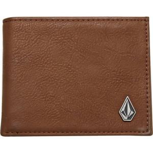 ボルコム Volcom メンズ 財布 slim stone wallet Mocha|fermart3-store