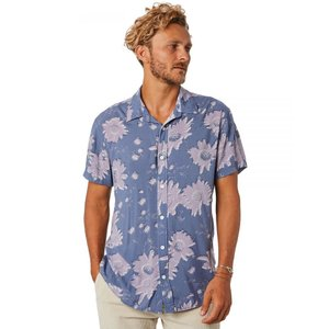 TCSS The critical slide society メンズ 半袖シャツ トップス Impressions Ss Shirt Folkstone grey|fermart3-store