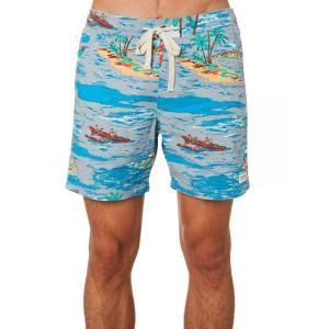 バンクス Banks メンズ ショートパンツ ボトムス・パンツ Vacation Beach Short Glacier blue|fermart3-store