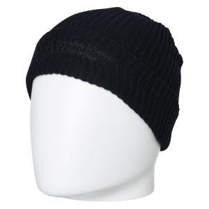 バンクス Banks メンズ ニット 帽子 Evolve Beanie Dirty black|fermart3-store