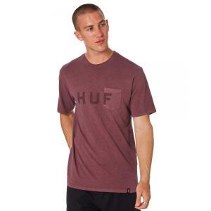 ハフ Huf メンズ Tシャツ トップス Og Logo Pocket Tee Port royale|fermart3-store