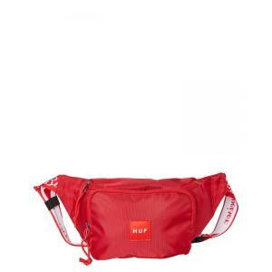 ハフ Huf メンズ ボディバッグ・ウエストポーチ バッグ Budweiser Cooler Side Bag Red|fermart3-store