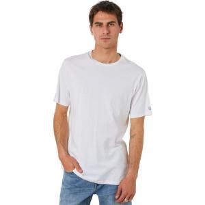 ボルコム Volcom メンズ Tシャツ トップス Solid Ss Tee White|fermart3-store