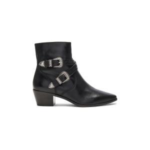 フライ Frye レディース ブーツ シューズ・靴 Ellen Buckle Short Bootie Black|fermart3-store