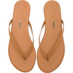 ティキーズ レディース ビーチサンダル シューズ・靴 Foundations Flip Flops Au Naturale|fermart3-store