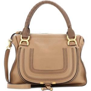 クロエ Chloe レディース ショルダーバッグ バッグ Marcie Medium leather shoulder bag Nut|fermart3-store