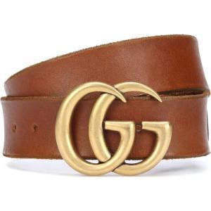 グッチ レディース ベルト Embellished leather belt Cuir|fermart3-store