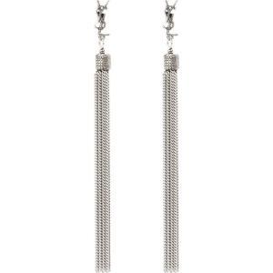 イヴ サンローラン Saint Laurent レディース イヤリング・ピアス ジュエリー・アクセサリー LouLou chain tassel earrings|fermart3-store