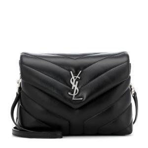 イヴ サンローラン レディース ショルダーバッグ バッグ Loulou Toy leather shoulder bag Nero|fermart3-store