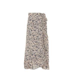 イザベル マラン レディース ロング・マキシ丈スカート スカート Alda printed linen wrap skirt fermart3-store