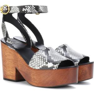 トリー バーチ Tory Burch レディース サンダル・ミュール シューズ・靴 camilla leather sandals Roccia fermart3-store