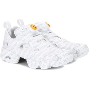 ヴェトモン レディース スニーカー シューズ・靴 X Reebok Logo Instapump Fury sneakers Grey fermart3-store