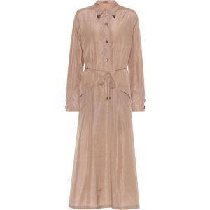 ボッテガ ヴェネタ レディース ワンピース ワンピース・ドレス Embellished silk shirt dress Light Pink fermart3-store