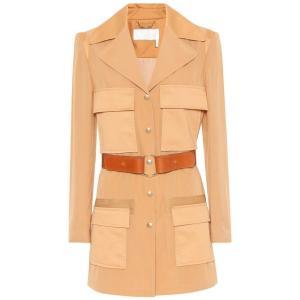 クロエ レディース コート アウター Belted coat Quiet Brown fermart3-store