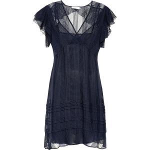 トリー バーチ Tory Burch レディース ワンピース ワンピース・ドレス Madison silk dress Tory Navy|fermart3-store