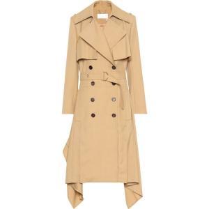 クロエ Chloe レディース トレンチコート アウター Wool trench coat barley brown fermart3-store
