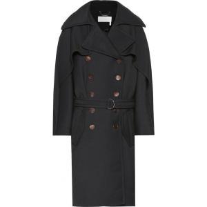 クロエ Chloe レディース コート アウター Wool coat iconic navy fermart3-store