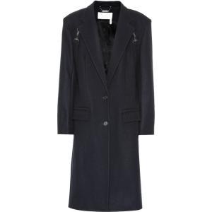 クロエ Chloe レディース コート アウター Stretch wool-blend coat iconic navy fermart3-store
