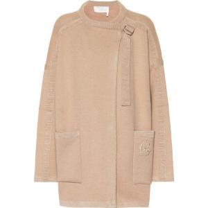 クロエ Chloe レディース ジャケット アウター Wool-blend jacket Barley Brown fermart3-store