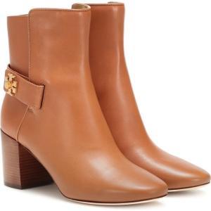トリー バーチ Tory Burch レディース ブーツ ショートブーツ シューズ・靴 kira leather ankle boots Mid Tan/Tan fermart3-store