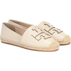トリー バーチ Tory Burch レディース エスパドリーユ シューズ・靴 Ines leather espadrilles New Cream/Gold fermart3-store