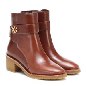 トリー バーチ Tory Burch レディース ブーツ ショートブーツ シューズ・靴 kira leather ankle boots Sierra Almond/Sierra Almond fermart3-store