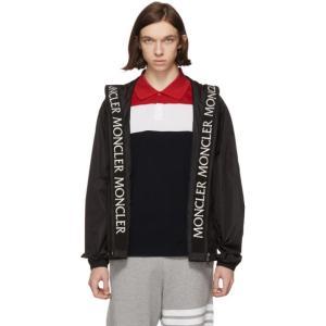 モンクレール メンズ ジャケット アウター Black Massereau Jacket fermart3-store