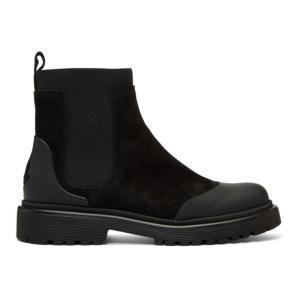 モンクレール レディース ブーツ シューズ・靴 Black Bathilde Boots fermart3-store