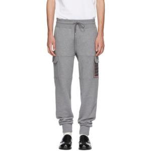 モンクレール メンズ スウェット・ジャージ ボトムス・パンツ Grey Tapered Cargo Sweatpants fermart3-store