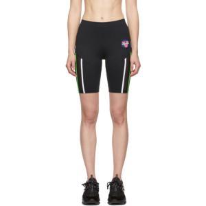 ヴェルサーチ Versace Underwear レディース ボトムス・パンツ 自転車 Black 80's Bicycle Shorts|fermart3-store