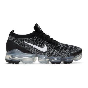 ナイキ Nike メンズ スニーカー シューズ・靴 Black & White Air Vapormax Flyknit 3 Sneakers|fermart3-store