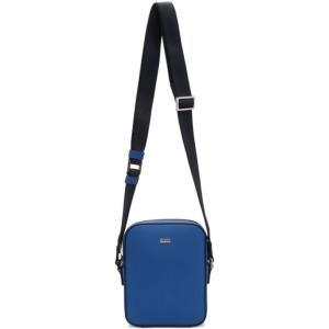 ヒューゴ ボス Boss メンズ メッセンジャーバッグ バッグ Blue Mini Signature NS Bag|fermart3-store