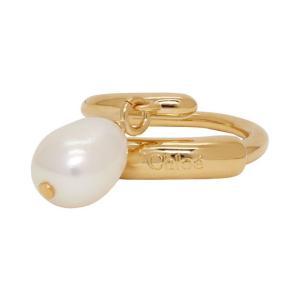 クロエ Chloe レディース 指輪・リング ジュエリー・アクセサリー Gold Pearl Ring Pearl fermart3-store