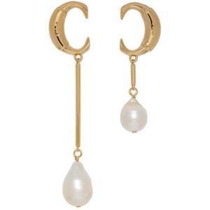クロエ Chloe レディース イヤリング・ピアス ジュエリー・アクセサリー Gold ' C' Pearl Earrings Gold fermart3-store