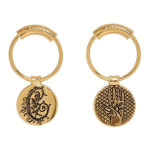 クロエ Chloe レディース イヤリング・ピアス ジュエリー・アクセサリー Gold Emoji Earrings Gold fermart3-store