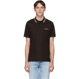 バーバリー Burberry メンズ ポロシャツ トップス Brown Johnston Polo ...