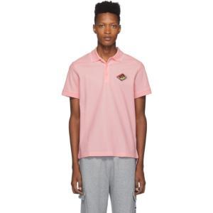 バーバリー Burberry メンズ ポロシャツ トップス pink logo aiden polo