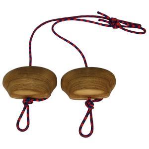 メトリウス ユニセックス クライミング Portable Power Grips Wood|fermart3-store
