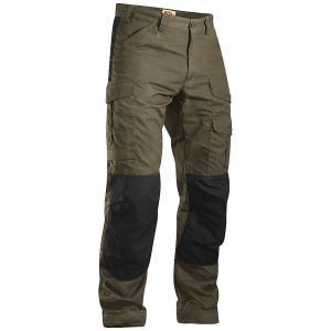 フェールラーベン メンズ ハイキング ウェア ボトムス Fjallraven Barents Pro Trouser Dark Olive fermart3-store