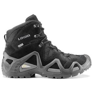 ローバー メンズ シューズ・靴 ハイキング・登山 Lowa Zephyr GTX Mid TF Boot Black|fermart3-store